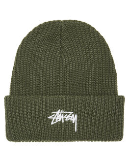 FLIGHT GREEN MENS ACCESSORIES STUSSY HEADWEAR - ST796004FLT