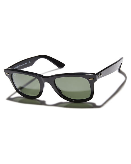 BLACK CRYSTAL GREEN MENS ACCESSORIES RAY-BAN SUNGLASSES - 0RB214050901