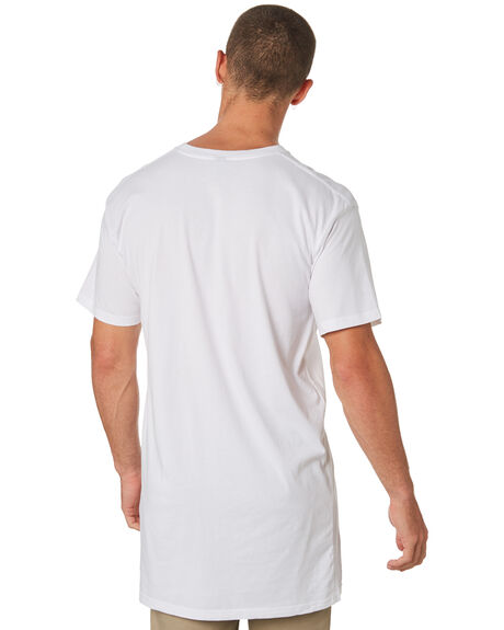 WHITE MENS CLOTHING AS COLOUR TEES - 5013WHITE