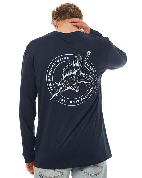 NAVY MENS CLOTHING RPM TEES - 7SMT16ANVYW