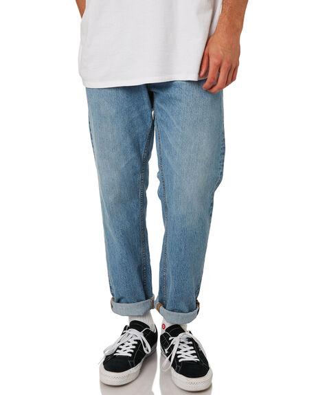 LIGHT BLUE WASH MENS CLOTHING DR DENIM JEANS - 1830111-G90
