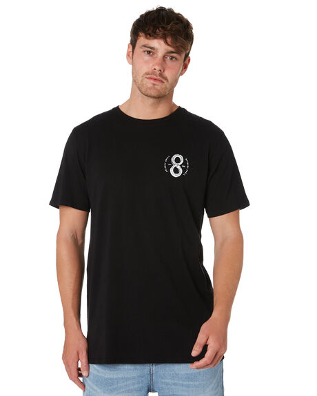 BLACK OUTLET MENS SWELL TEES - S52011010BLACK
