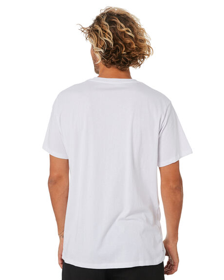 WASHED WHITE MENS CLOTHING MISFIT TEES - MT092004WASHW