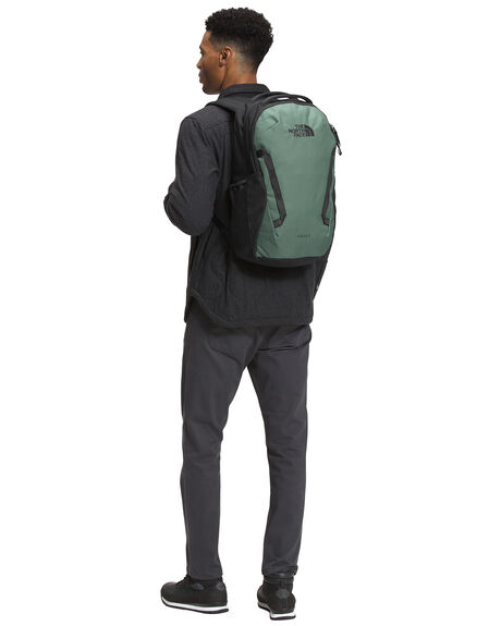 GREEN BLACK MENS ACCESSORIES THE NORTH FACE BAGS + BACKPACKS - NF0A3VY2GCC