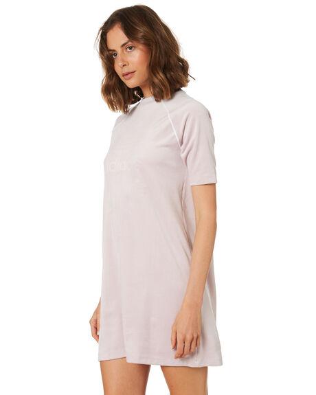 ICE PURPLE WOMENS CLOTHING ADIDAS DRESSES - DH4715PURP