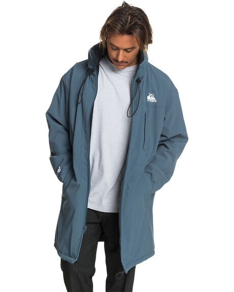 ORION BLUE MENS CLOTHING QUIKSILVER JACKETS - EQYJK03596-BRG0