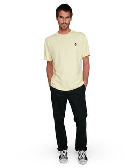 SUN YELLOW MENS CLOTHING RVCA TEES - RV-R108044-S43