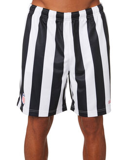 WHITE BLACK MENS CLOTHING CARHARTT SHORTS - I026250-02WHBK