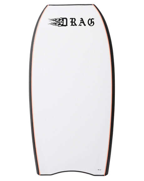 SILVER WHITE BOARDSPORTS SURF DRAG BODYBOARDS - DBCCRAIGSILWH