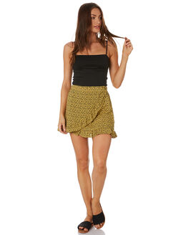 MIMOSA YELLOW WOMENS CLOTHING RUSTY SKIRTS - SKL0495MMS