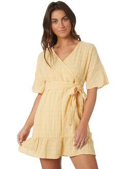 MUSTARD WOMENS CLOTHING THE HIDDEN WAY DRESSES - H8183448MSTRD