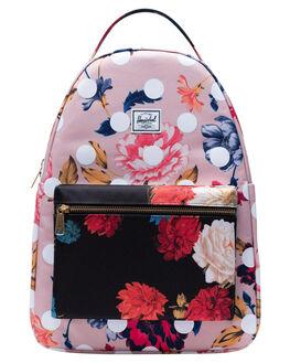 WINTER FLORA POLKA WOMENS ACCESSORIES HERSCHEL SUPPLY CO BAGS + BACKPACKS - 10503-03177-OSFLPLK