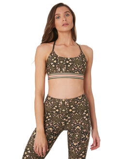FOLK FLORAL PRINT WOMENS CLOTHING LORNA JANE ACTIVEWEAR - 071903FLK