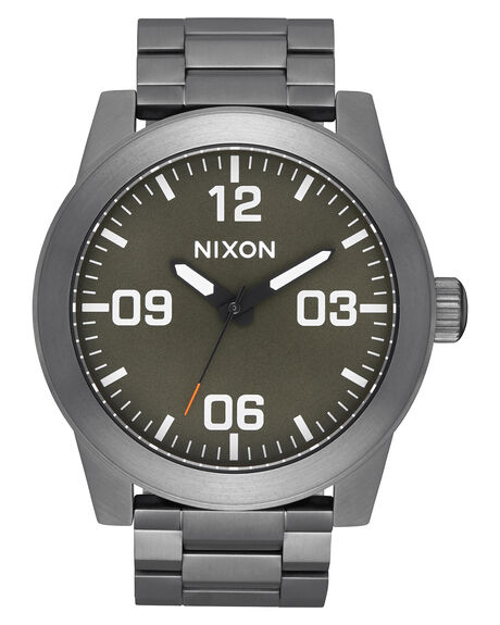 GUNMETAL ORANGE MENS ACCESSORIES NIXON WATCHES - A346-2947-00GUNOG