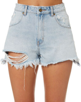 LAYLA BLEACH WOMENS CLOTHING ROLLAS SHORTS - 12604M-3571