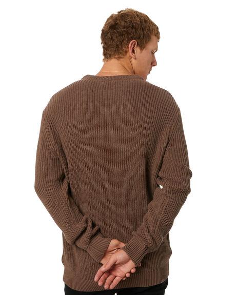 MUSHROOM MENS CLOTHING SWELL KNITS + CARDIGANS - S5184147MUSH