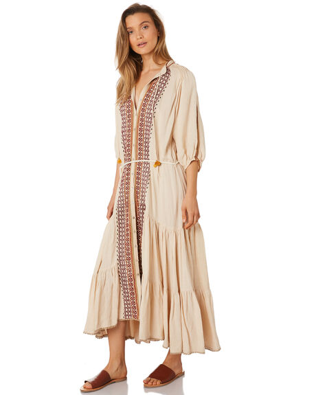SAND WOMENS CLOTHING TIGERLILY DRESSES - T393421SND
