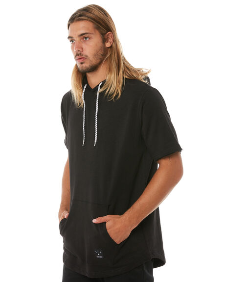 BLACK MENS CLOTHING ST GOLIATH TEES - 4313055BLK