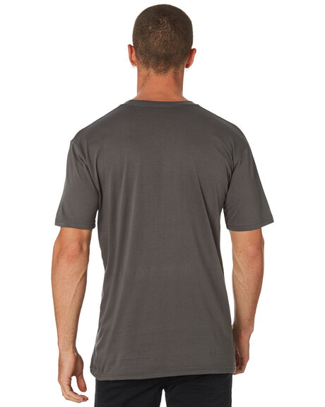CHARCOAL MENS CLOTHING AS COLOUR TEES - 5001CHARC