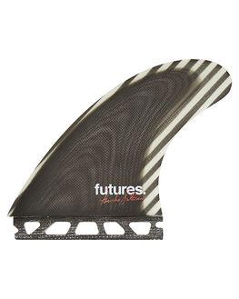 WHITE SURF HARDWARE FUTURE FINS FINS - FPS-010247WHT