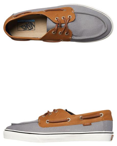 FROST GRAY MARSH MENS FOOTWEAR VANS SLIP ONS - VNA3MUBQC3GRY