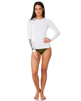WHITE WOMENS SWIMWEAR HURLEY ONE PIECES - AJ2649100