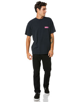 OFF BLACK MENS CLOTHING OBEY TEES - 166912181OBK
