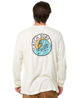GLACIER WHITE MENS CLOTHING CATCH SURF TEES - A7TEE025GWHT
