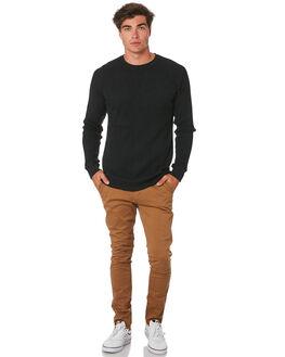 COFFEE MENS CLOTHING ACADEMY BRAND PANTS - 19W104COF