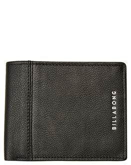BLACK GRAIN MENS ACCESSORIES BILLABONG WALLETS - 9695183ABLKGR
