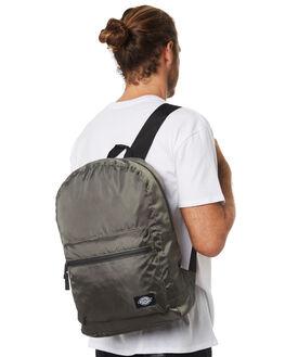 OLIVE GREEN MENS ACCESSORIES DICKIES BAGS + BACKPACKS - K4181401OG