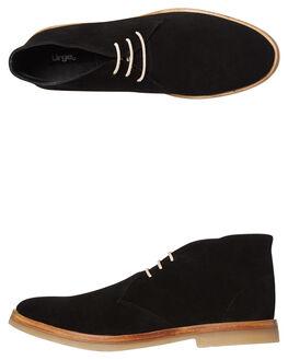 BLACK MENS FOOTWEAR URGE BOOTS - URG17133-BLK