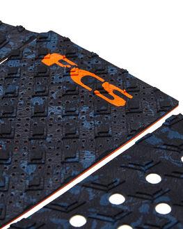 BLUE FLECK ORANGE BOARDSPORTS SURF FCS TAILPADS - FT305BLUFO