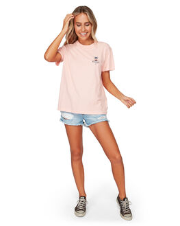 PEACH MELBA WOMENS CLOTHING BILLABONG TEES - BB-6592004-PAB
