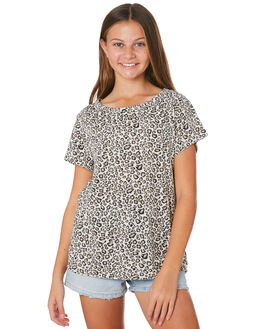 LEOPARD KIDS GIRLS SWELL TOPS - S6201003LEPRD