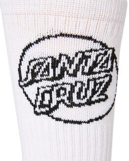 WHITE MENS CLOTHING SANTA CRUZ SOCKS + UNDERWEAR - SC-MZNC101WHI