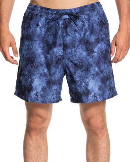 MEDIEVAL BLUE MENS CLOTHING QUIKSILVER BOARDSHORTS - EQYJV03367BTE6