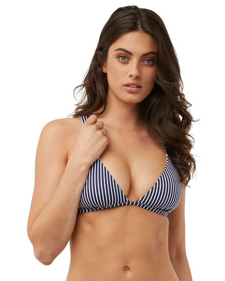 STRIPE OUTLET WOMENS SWELL BIKINI TOPS - S8182341STRIP