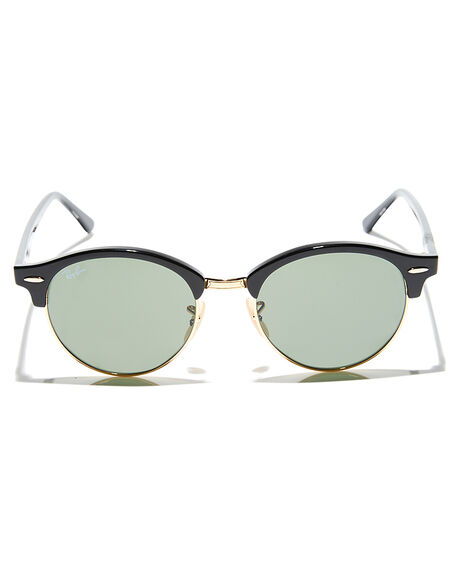 BLACK GREEN MENS ACCESSORIES RAY-BAN SUNGLASSES - 0RB424651901