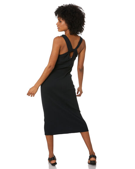 BLACK WOMENS CLOTHING SILENT THEORY DRESSES - 6063038BLK