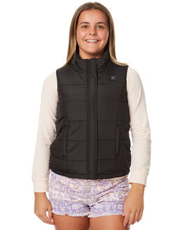 BLACK KIDS GIRLS RIP CURL JACKETS - JJKAF10090