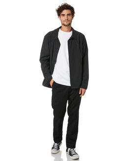 BLACK PRINT MENS CLOTHING HERSCHEL SUPPLY CO JACKETS - 50064-00573