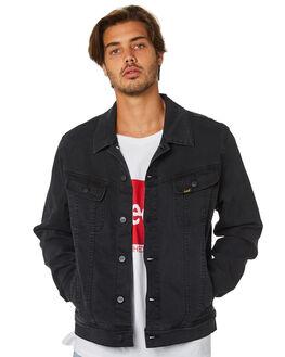 LUNAR BLACK MENS CLOTHING LEE JACKETS - 601780T79