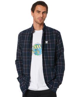 NAVY MENS CLOTHING LOWER SHIRTS - LO20Q1MSHI01NVY
