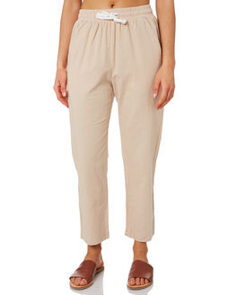 SAND WOMENS CLOTHING NUDE LUCY PANTS - NU23276SAND