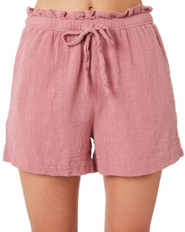 MAUVE WOMENS CLOTHING RHYTHM SHORTS - JAN20W-WS03MVE