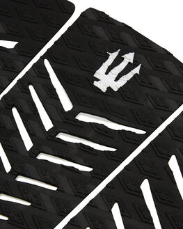 BLACK WHITE BOARDSPORTS SURF FK SURF TAILPADS - 1221BLKWH