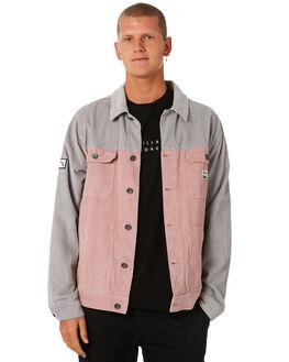 PINK HAZE MENS CLOTHING BILLABONG JACKETS - 9581902PHAZE