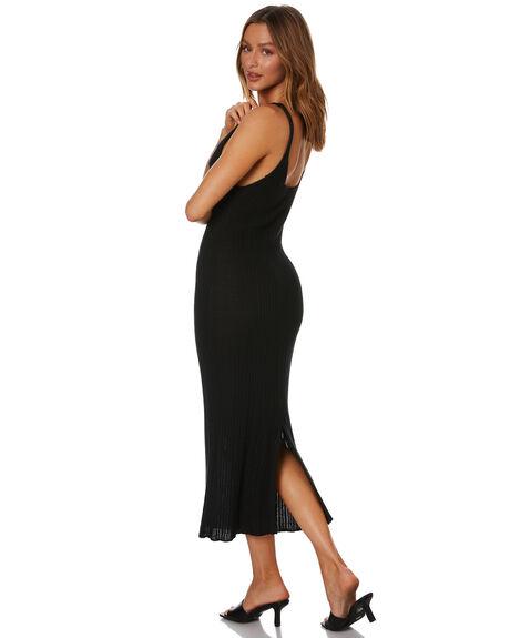 BLACK WOMENS CLOTHING RUE STIIC DRESSES - WS-20-K-11-BL-CTBL