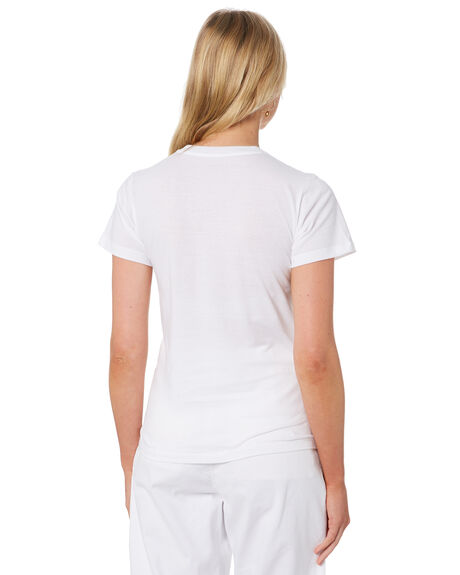 WHITE WOMENS CLOTHING CARHARTT TEES - I027837WHI